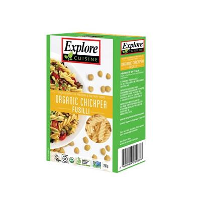 Explore Cuisine Organic Fusilli Chickpea, Sorghum, Thai Black Rice  - 250g