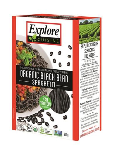 Explore Cuisine Organic Spaghetti Black Bean 200g