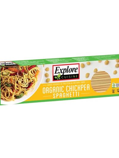Explore Cuisine Organic Spaghetti Chickpea 250g