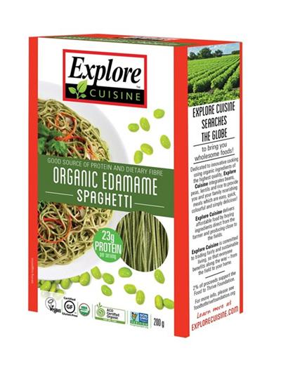 Explore Cuisine Organic Spaghetti Edamame 200g