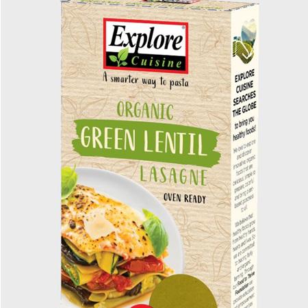 Explore Green Lentil Lasagne 250g