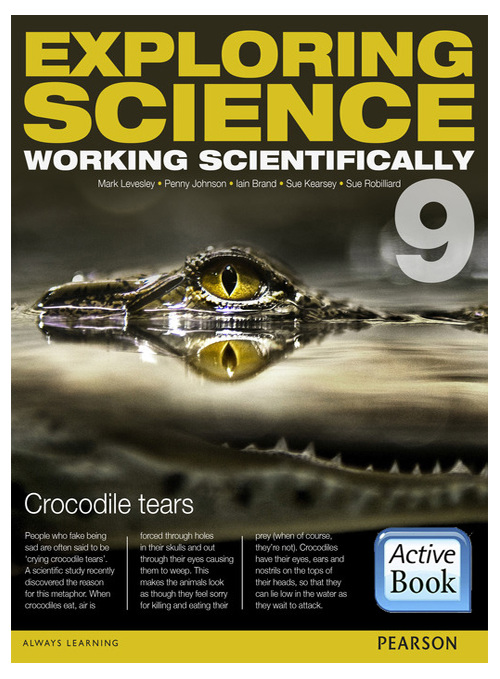 Exploring Science: Working Scientifically 9 ActiveBook