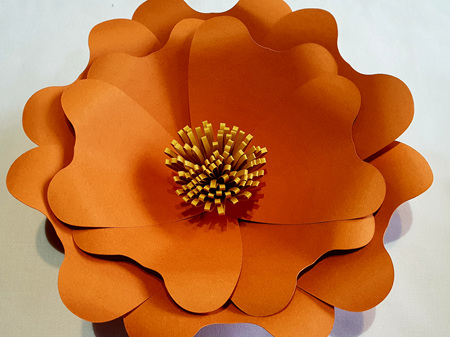 Extra Small Kayla paper flower