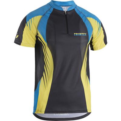Extreme O-Shirt, Azure / Lime