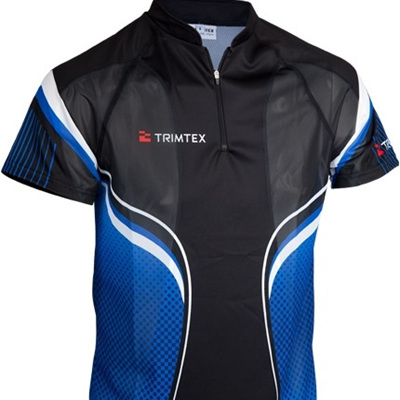 Extreme O-Shirt, Black / Blue