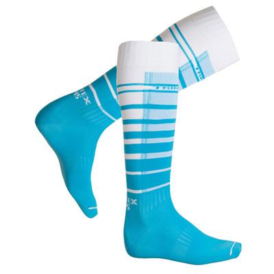 Extreme O-Socks, Azure Blue