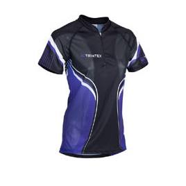 Extreme Womens O-Shirt, Black / Lilac
