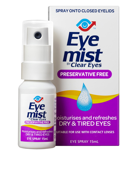 Eye Mist By Clear Eyes 15 ml