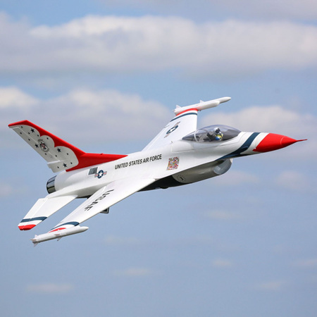 F-16 Thunderbirds 70mm EDF BNF Basic
