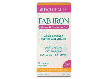 Fab Iron Caps 60