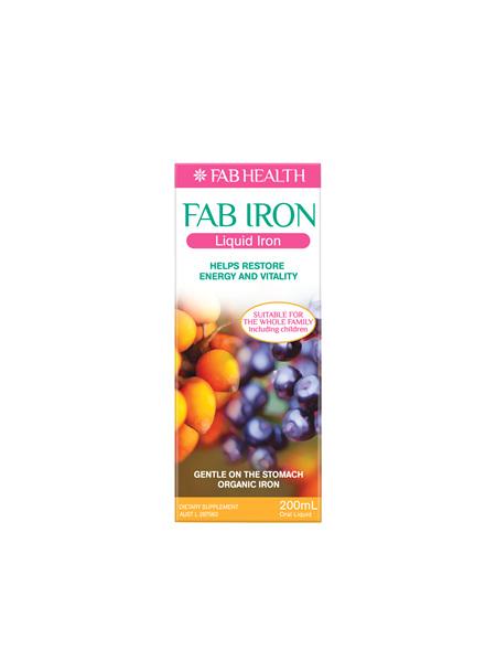 Fab Iron Liquid 200 ml