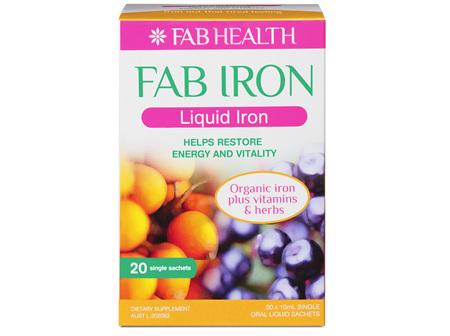 Fab Iron Liquid Iron 10 ml Sachet 20