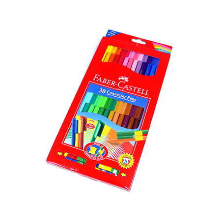 Faber-Castell Connector Pens - Wallet 30
