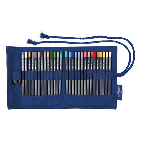 Faber-Castell GoldFaber pencil roll - 27 pencils