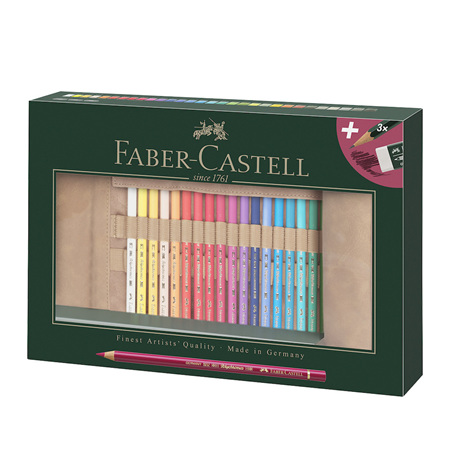 Faber-Castell Polychromos - Pencil Roll - 33 Pencils