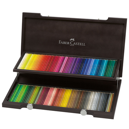 Faber-Castell Polychromos Wooden Box of 120