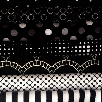Fabric Fix 10 Pack  - Black and White