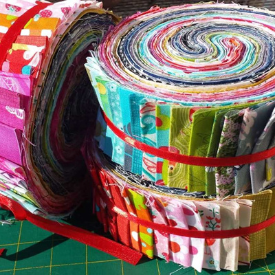 Fabric Fixation Sunrise Jellyroll