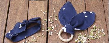 Fabrics for Organic Bunny Teethers