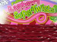 Fabulicious  Raspberry Supertwists 1.6kg 60 Pieces