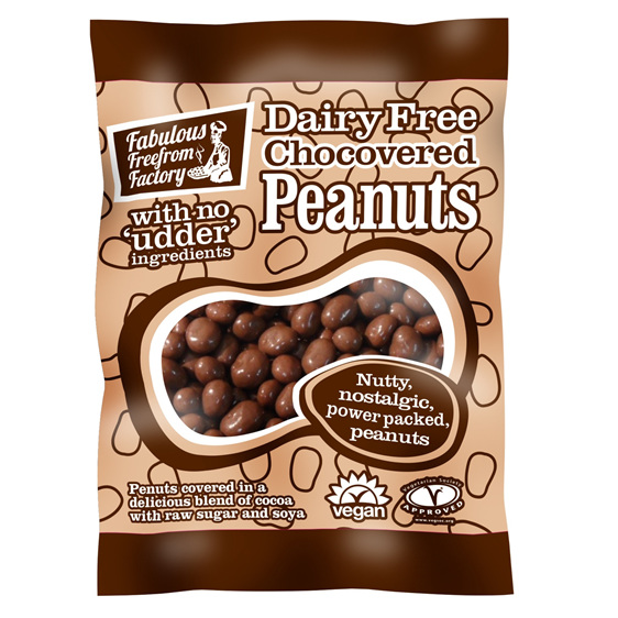 Fabulous Freefrom Factory Chocolate Peanuts