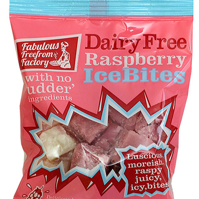 Fabulous Freefrom Factory Raspberry Ice Bites