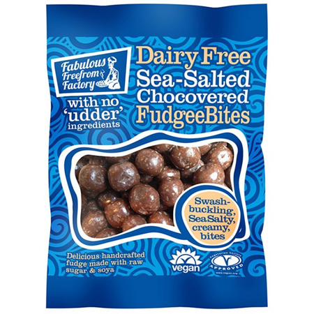 Fabulous Freefrom Factory Sea Salt Fudgee Bites