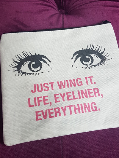Face it Cosmetic Bag - Just wing it