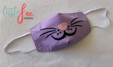 Face Mask Bunny Design 2