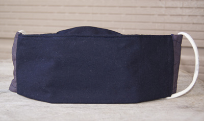 Face Mask in 'Navy', Size XL (large adult)