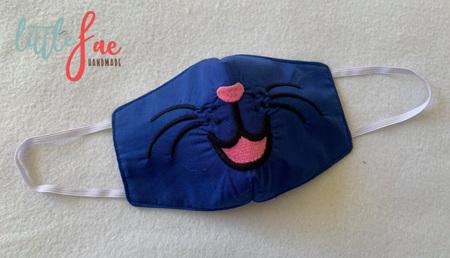 Face Mask Kitten Design 3