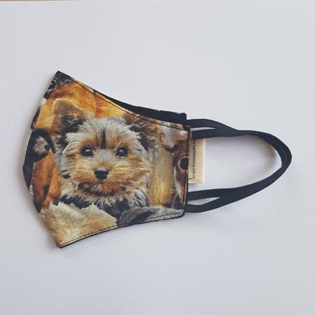 Face Mask Medium Dog Print