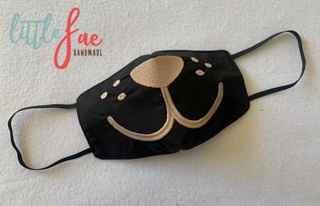 Face Mask Puppy Design 2
