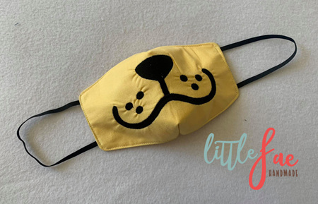 Face Mask Puppy Design 3