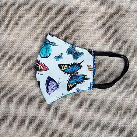 Face Mask Small Butterflies #3 Print