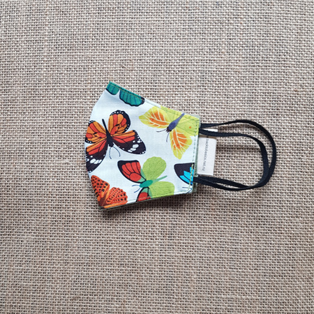 Face Mask Small Butterfly #5 Print