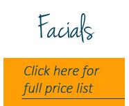Facials price list