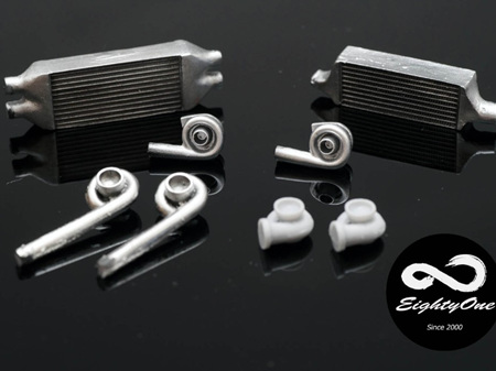 Factory EightyOne 1/24 Turbo and Intercooler Detail parts