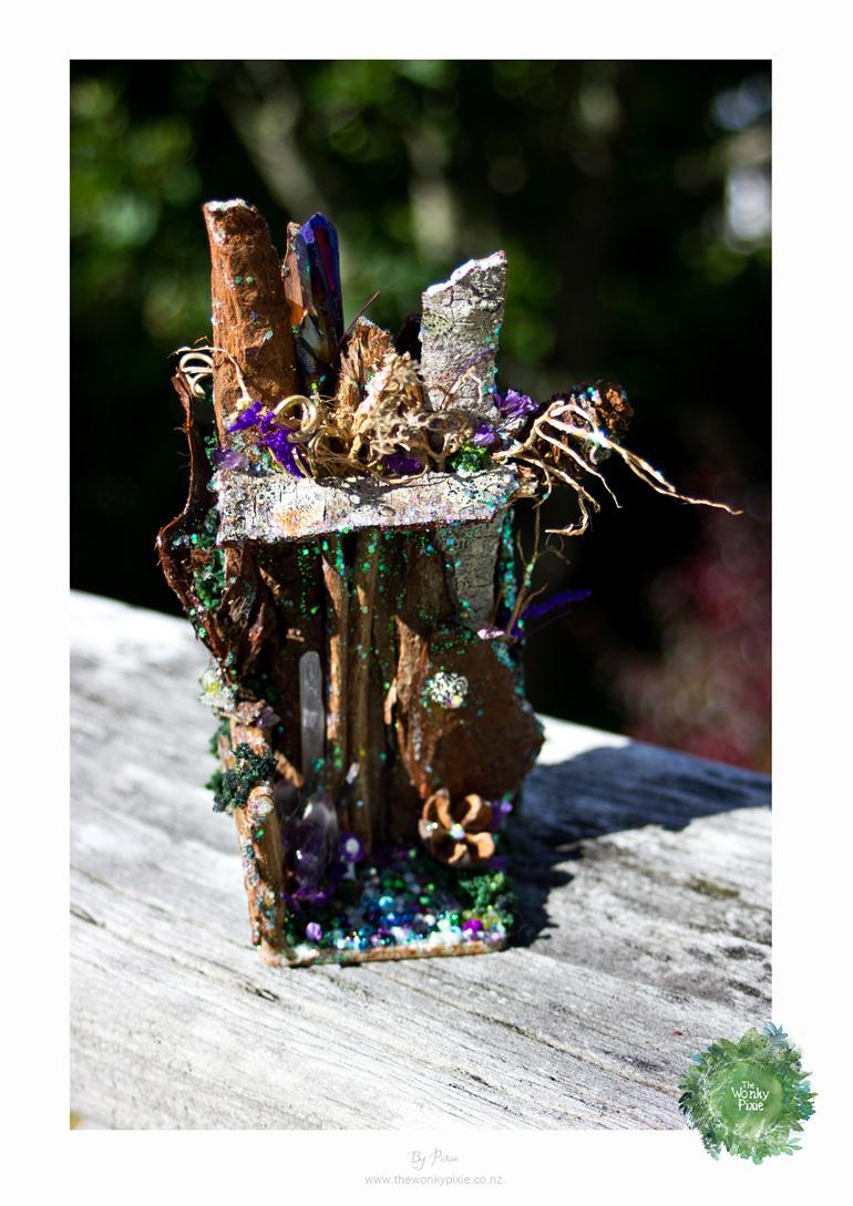 Faery, Fairy, Fairy Door, Miniatures, Fairy Art, The Wonky Pixie NZ, NZ
