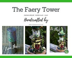 Faery, Fairy, Fairy House, Miniatures, Fairy Art, The Wonky Pixie NZ, NZ