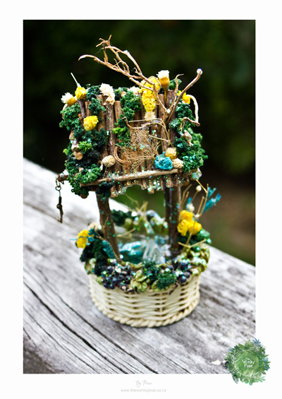 Handcrafted Faery WaterWell