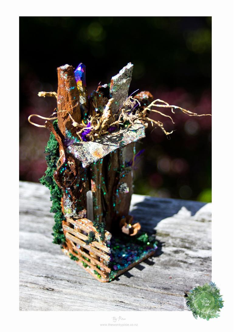 Faery Miniatures, Fairy door, Nature Artist,  Wellington New Zealand,