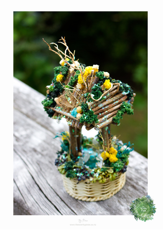 Faery Miniatures, Gifts and Flowers, Nature Artist,  Wellington New Zealand,