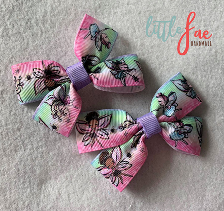 Fairy Girls Hair Bows