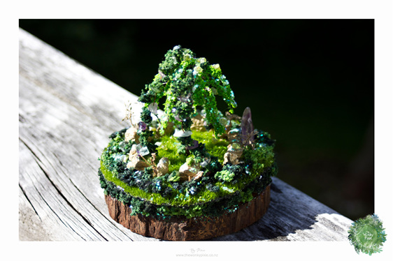 Fairy Miniatures, Gifts and Flowers, Nature Artist,  Wellington New Zealand,
