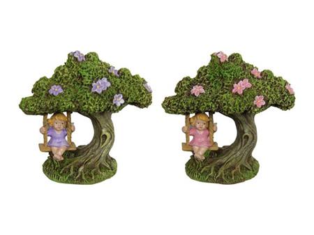 Fairy On Tree Swing