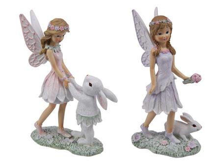 Fairy with Rabbit