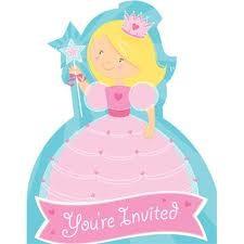 Fairytale Princess Invites