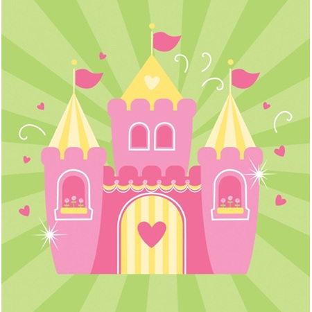 Fairytale Princess Napkins