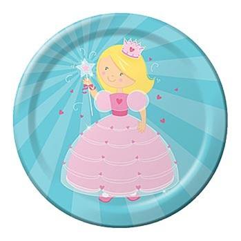 Fairytale Princess Plates